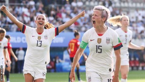 Rapinoe 'stands by' White House boycott threat