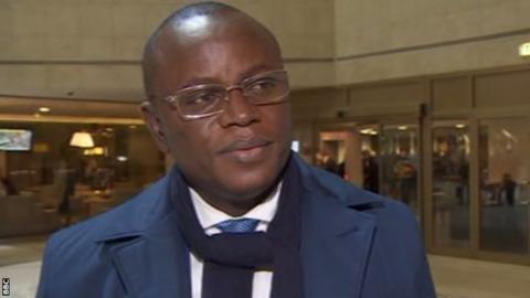 Senegal sports minister Matar Ba