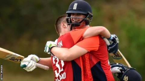 England Learning Disability XI against Australia in Brisbane