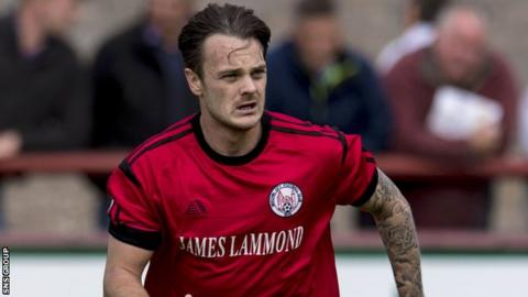 Ally Love joined Clyde from Brechin in January