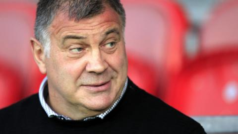 Wigan Warriors head coach Shaun Wane