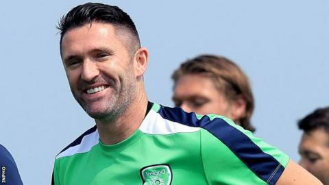 Republic of Ireland's record goalscorer Robbie Keane has scored 67 times for his country