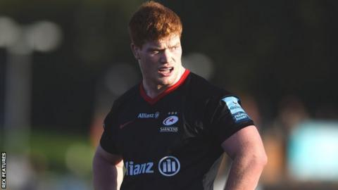 Ralph Adams-Hale: Saracens prop ruled out for rest of season with ankle injury