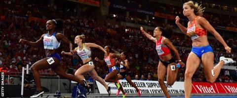Dina Asher-Smith wins European 100m gold