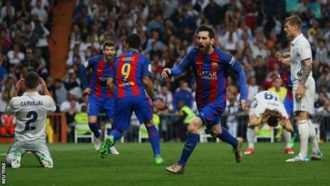 8322a5bbf91 Lionel Messi has scored 47 goals in 46 games this season - despite some  claiming he is no longer at his peak
