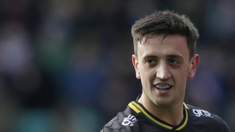 Alex Mitchell has scored 10 tries so far for Northampton Saints this season