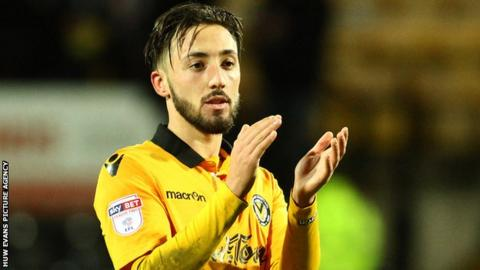 josh sheehan has played 10 games for newport county this season