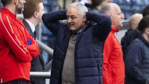 Ray McKinnon was sacked by Falkirk after the club's slow start in League One