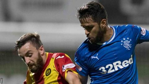 Murty explains decision to axe senior Rangers star v Partick