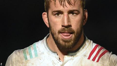 Chris Robshaw captained England 42 times