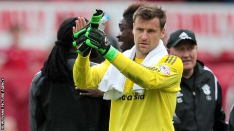David Marshall played a key part for Cardiff in their Championship win at Nottingham Forest on Saturday