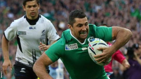 Ireland are sweating on the fitness of Rob Kearney