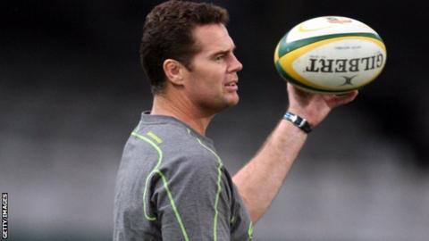 Johan Erasmus said it is a huge honour to be appointed to the newly created role at Munster