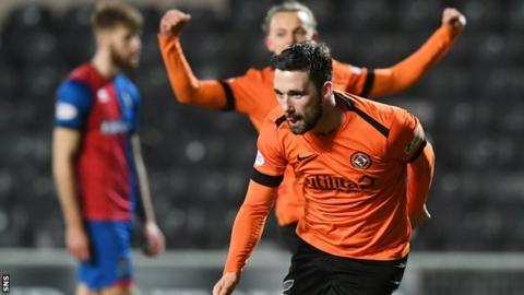 Dundee United scorer Nicky Clark