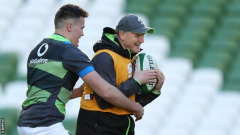 Ulster winger Jacob Stockdale is expected to make his Six Nations debut against France