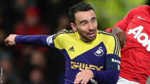 Leon Britton first joined Swansea City in 2002