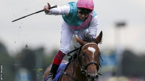 Frankie Dettori on Enable