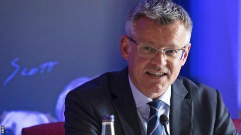 Rangers managing director Stewart Robertson is an SPFL board member
