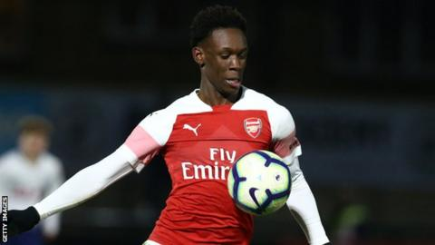 Arsenal's Folarin Balogun