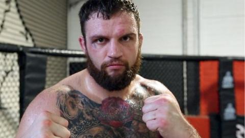 UFC fighter John Phillips