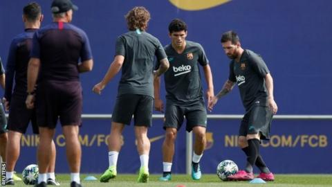 Messi declared fit to face Dortmund in UCL opener
