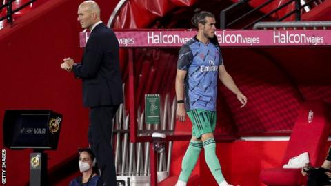 sports Gareth Bale made 16 La Liga appearances in 2019-20, 12 of which were starts