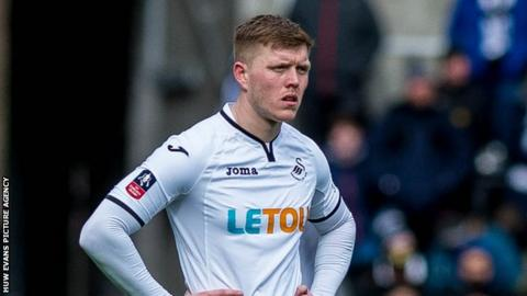 Swansea City defender Alfie Mawson