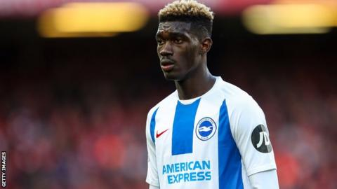 Brighton and Mali's Yves Bissouma