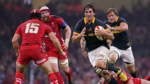 Eben Etzebeth on the charge against Wales