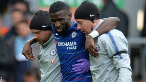 Chelsea duo injured in draw with Burnley