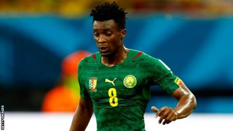 Cameroon's Benjamin Moukandjo