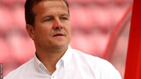 Notts County boss Mark Cooper
