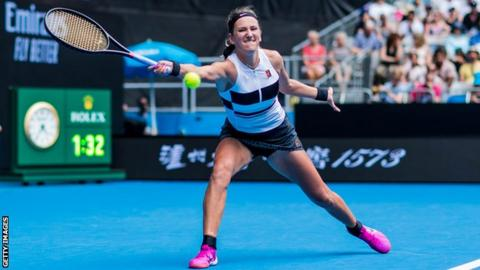 Azarenka loses in first Australian Open match since '16
