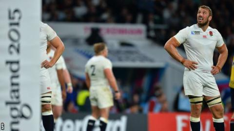 England captain Chris Robshaw looks back in anger