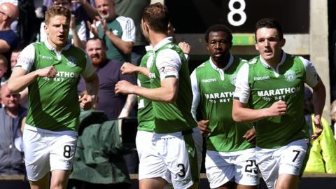 Hibs beat 2-1 Celtic