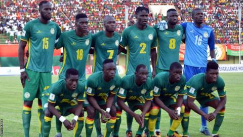 Senegal are playing South Korea in a friendly ahead of the World Cup in Russia this summer