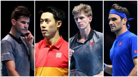 Players in the ATP Finals
