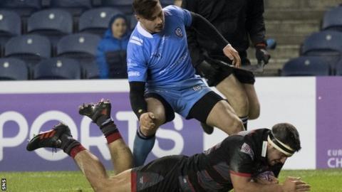 Stuart McInally scores doe Edinburgh