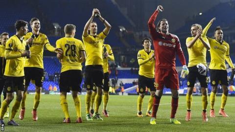 Dortmund celebrate