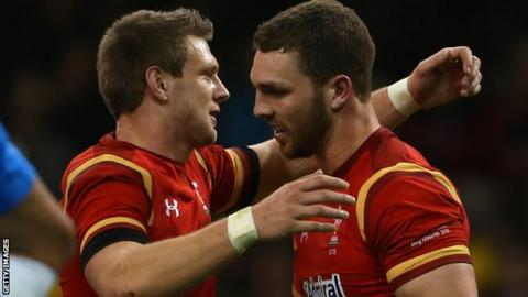 Dan Biggar and George North