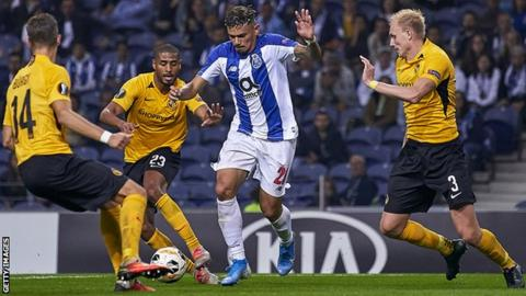 Young Boys were beaten by Porto in their opening group game