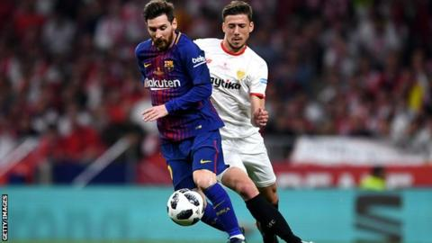 Barcelona sign €35m Lenglet from Sevilla