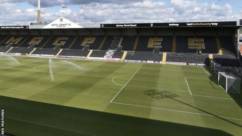 Meadow Lane, home of Notts County Ladues