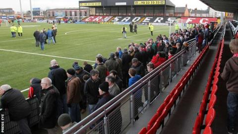 Seaview in north Belfast will stage the Co Antrim Shield final next month