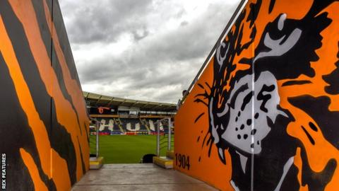 Hull City's KCOM Stadium