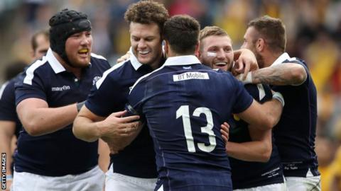 Scotland enjoyed wins over Australia and Italy over the summer