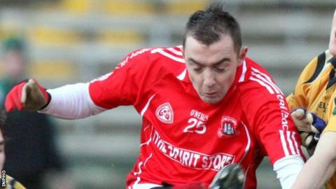 Niall Gormley scored an early goal for Tyrone champions Trillick