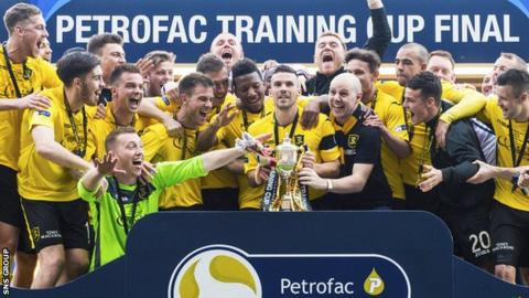 Livingston won the Petrofac Training Cup last season