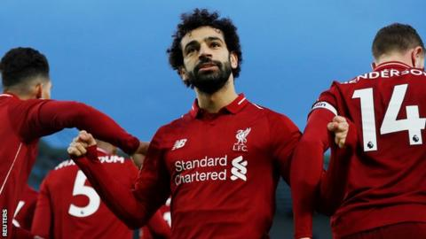 Brighton & Hove Albion 0-1 Liverpool: Mo Salah scores winner from spot