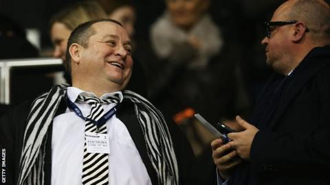 Newcastle United bid still on table - Staveley